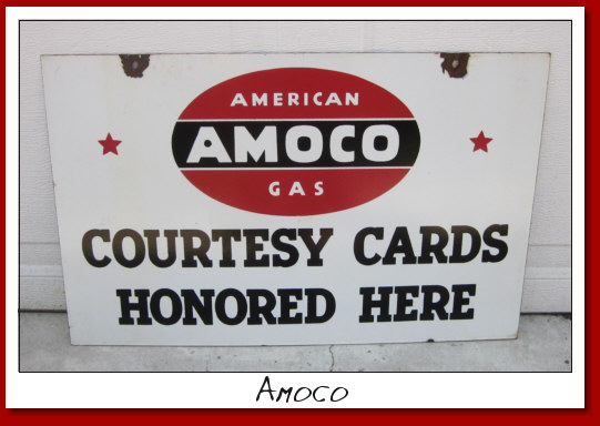"Amoco Credit Card DSP 15""x24"""