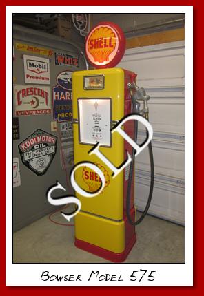 Severn Gas Pumps, Antique gas pumps, classic gas pumps, vintage gas