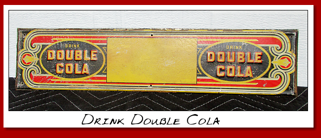 drink double cola sigh