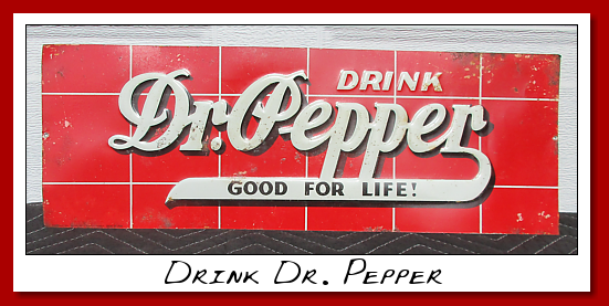 drink dr pepper SST brick