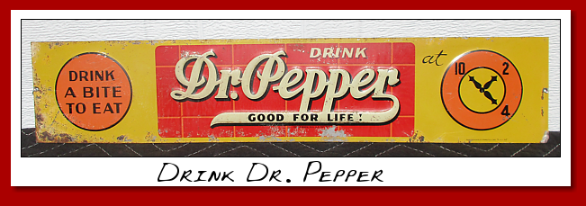 drink dr. pepper brick