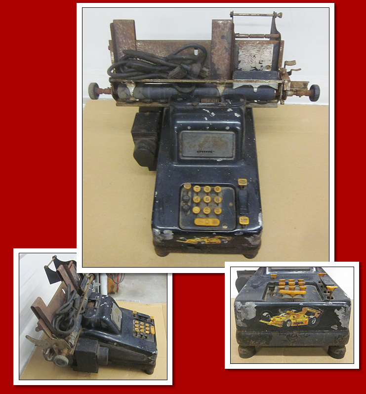 adding machine antique
