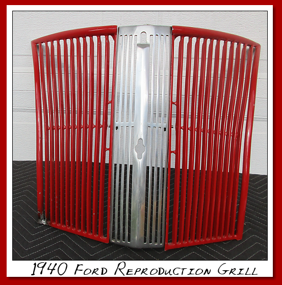 Reproduction grill for a 1940's FORD