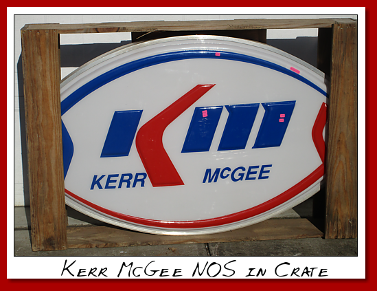 Kerr McGee NOS In crate