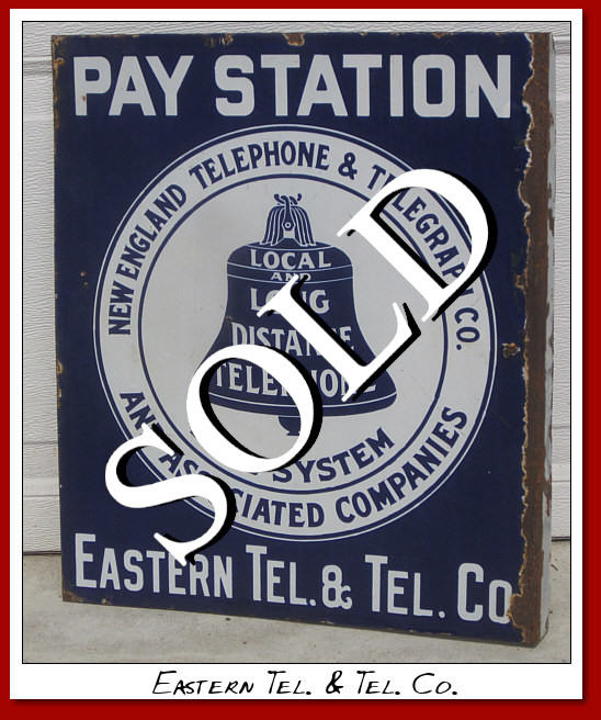 Pay Station New England Telephone & Telegraph