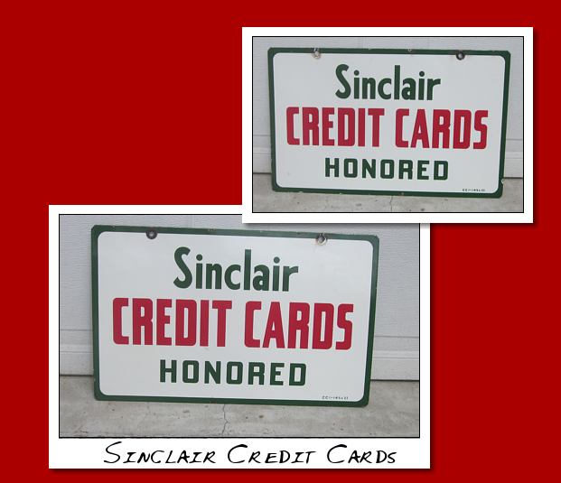 Sinclair Credit Cards Honored DSP