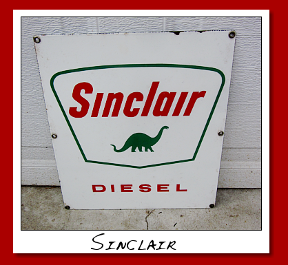 sinclair diesel sign