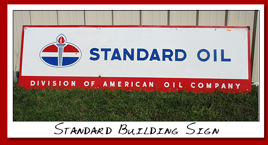 standard oil building sign