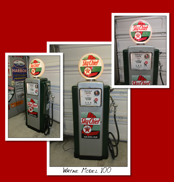 Severn Gas Pumps, Antique gas pumps, classic gas pumps